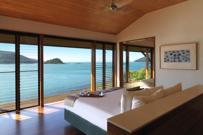 Qualia resort Hamilton Island Pavilion Bedroom