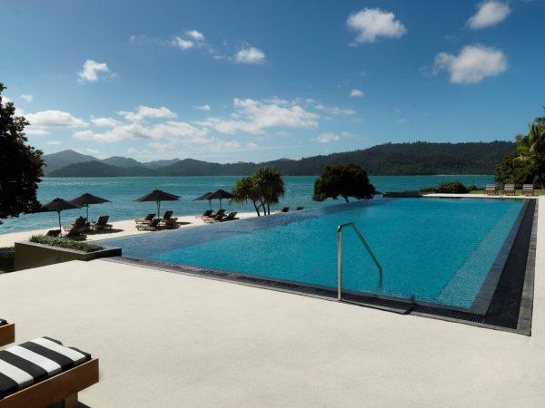 Qualia resort Hamilton Island Pool