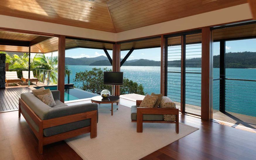 Qualia resort Hamilton Island Windword Pavilion