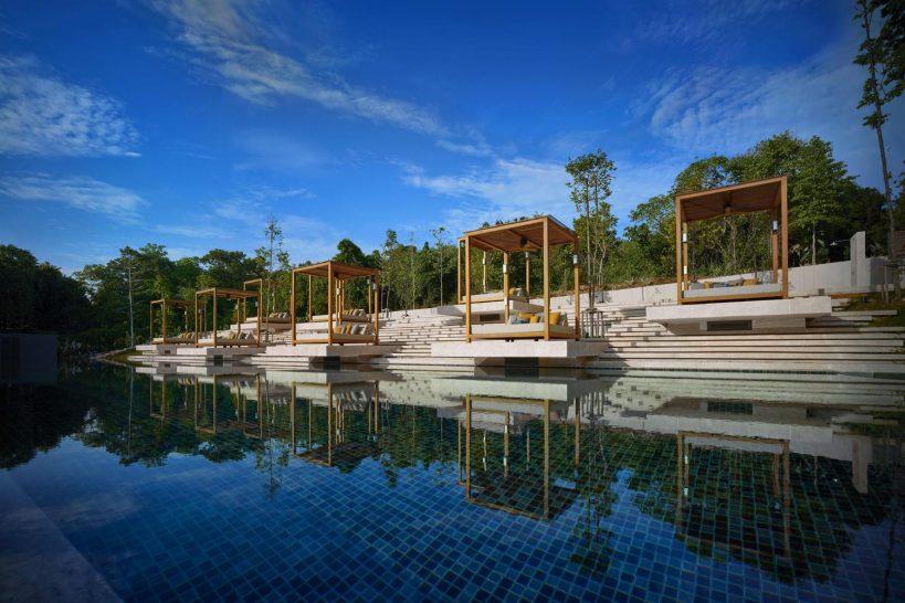 Ritz Carlton Koh Samui Pool Sunset