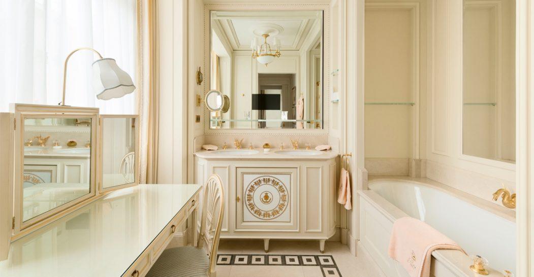 Ritz Paris Deluxe Suite Bathroom