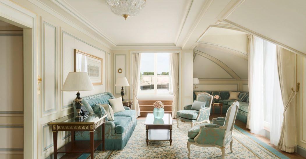 Ritz Paris Hotel Suite Mansart