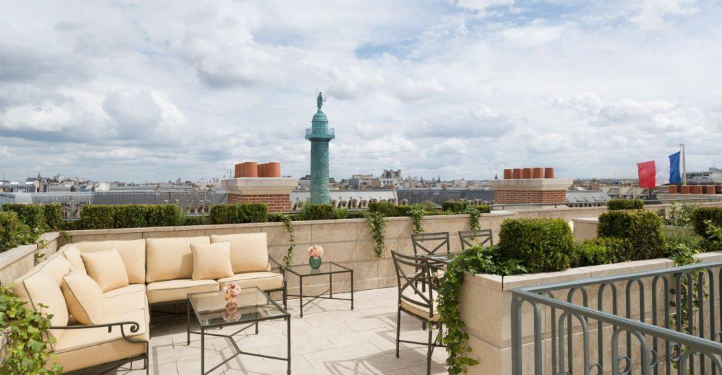 Ritz Paris Hotel Suite Mansart Terrace