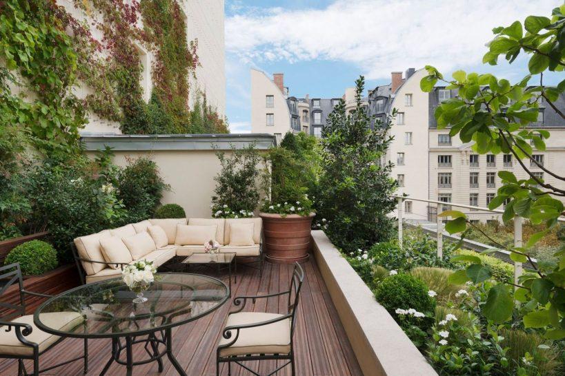 Ritz Paris Suite Grand Jardin Terrace