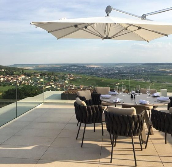 Royal Champagne Hotel and Spa Terrace