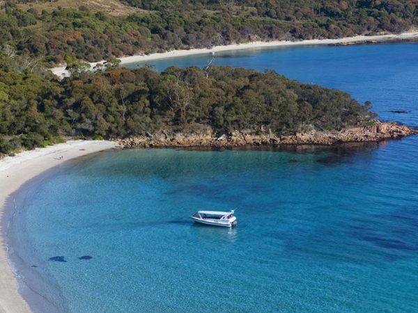 Saffire Freycinet Schouten Island Experience