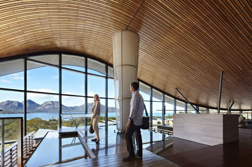 Saffire Freycinet Tasmania Lobby
