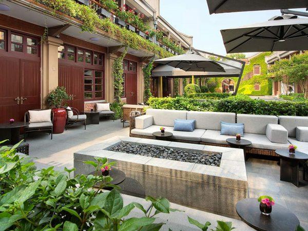 Shanghai Jianyeli Capella Hotel LA Terrace