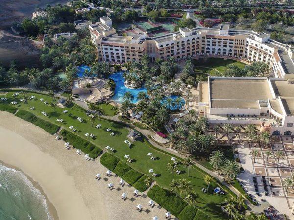 Shangri La Barr Al Jissah Resort and Spa Beach Top View