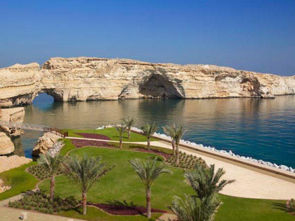 Shangri La Barr Al Jissah Resort and Spa Beach View