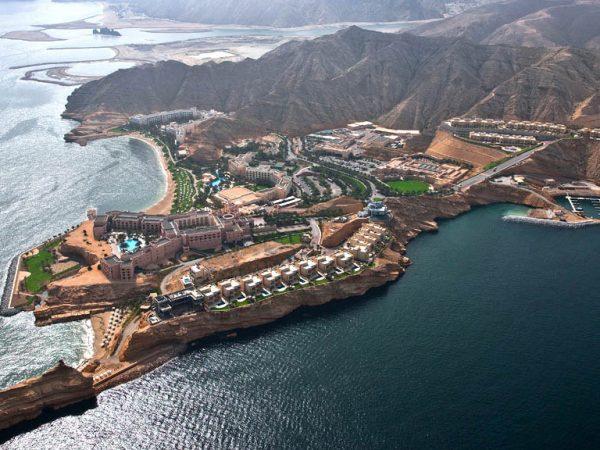 Shangri La Barr Al Jissah Resort and Spa Pool Top View
