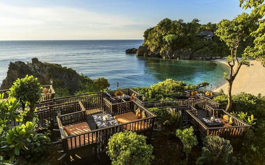 Shangri La Boracay Resort Sirena Restaurant and Clifftop Bar