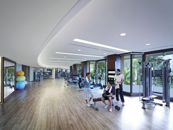 Shangri La Hotel Bangkok Gym