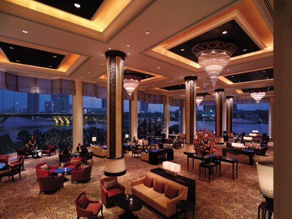 Shangri La Hotel Bangkok The Lobby Lounge