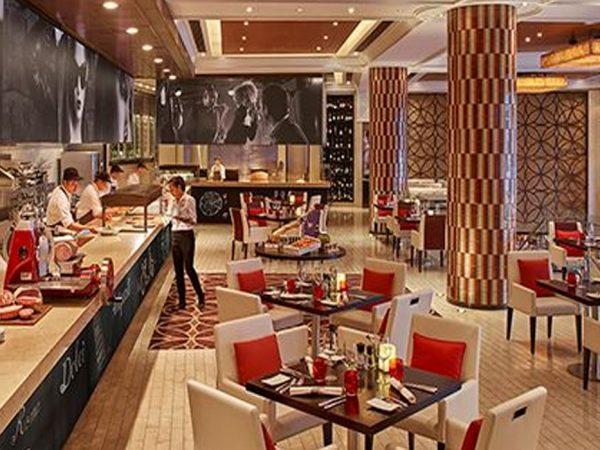 Shangri La Hotel Bangkok Volti Restaurant Bar