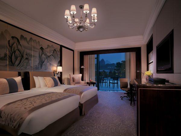 Shangri La Hotel Guilin Executive Terrace Mountain View Room