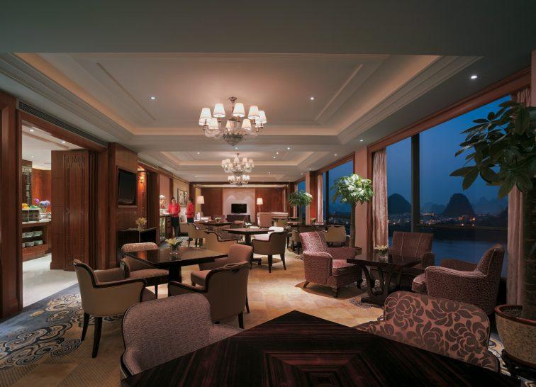 Shangri La Hotel Guilin Horizon Club Lounge