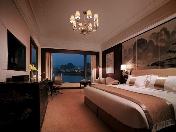 Shangri La Hotel Guilin Horizon Club River View Room