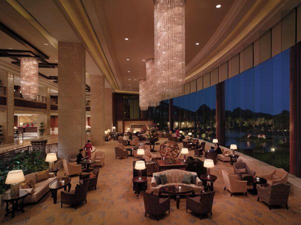 Shangri La Hotel Guilin Lobby Lounge