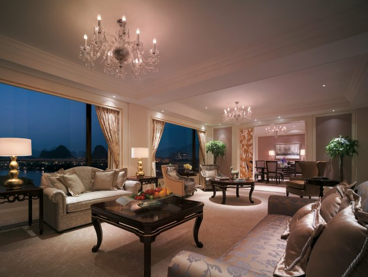 Shangri La Hotel Guilin Presidential Suite