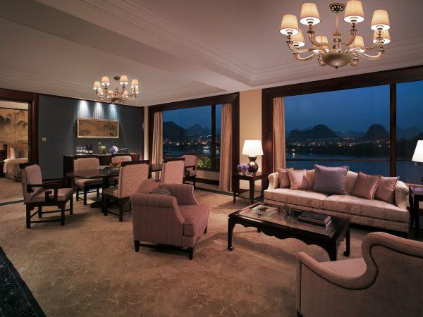 Shangri La Hotel Guilin Specialty Suite