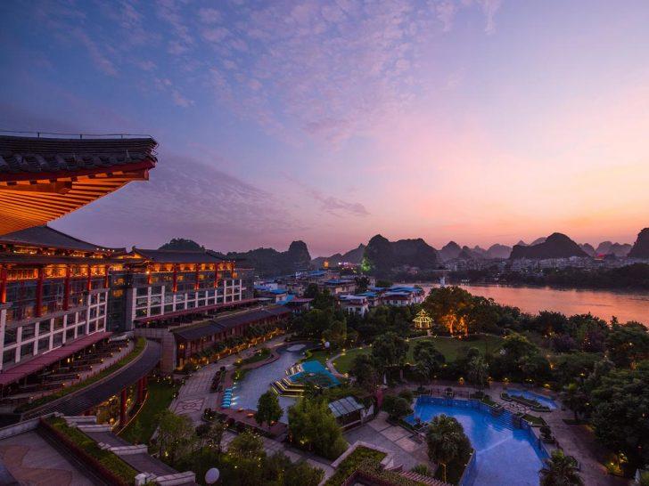 Shangri La Hotel Guilin View