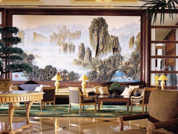 Shangri La Hotel Hangzhou Hotel Lobby