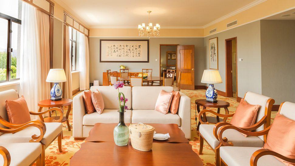 Shangri La Hotel Hangzhou West Wing Presidential Suite