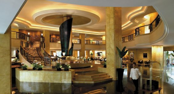 Shangri La Hotel Kuala Lumpur Lobby