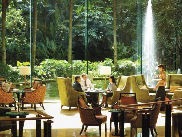 Shangri La Hotel Kuala Lumpur Lobby Lounge