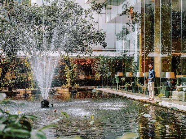 Shangri La Hotel Kuala Lumpur Pool Area