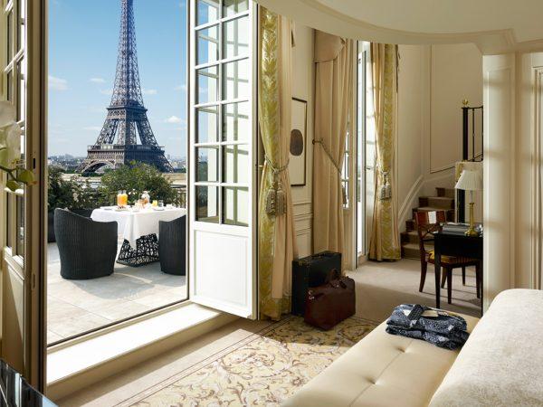 Shangri La Hotel Paris La Suite Gustave Eiffel