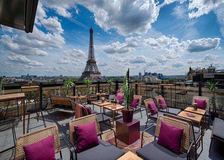 Shangri La Hotel Paris La Terrasse Krug