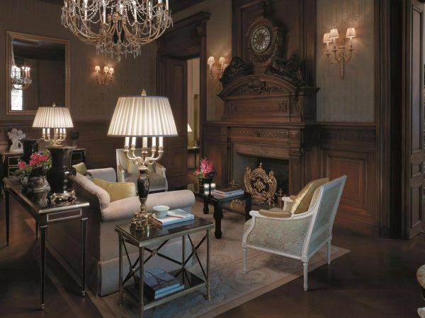 Shangri La Hotel Paris Lounge