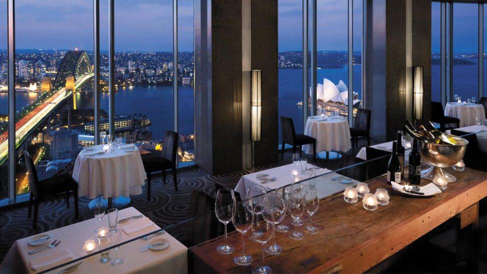Shangri La Hotel Sydney Altitude Restaurant
