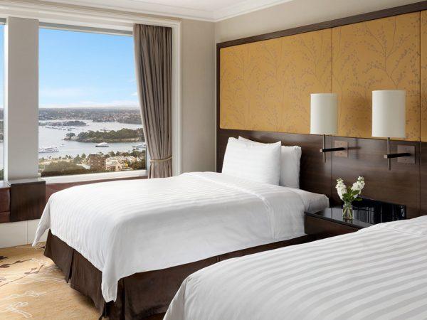 Shangri La Hotel Sydney Deluxe Darling Harbour Room
