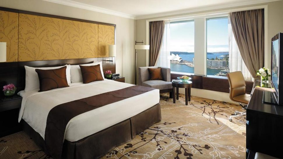Shangri La Hotel Sydney Deluxe Opera House City Room