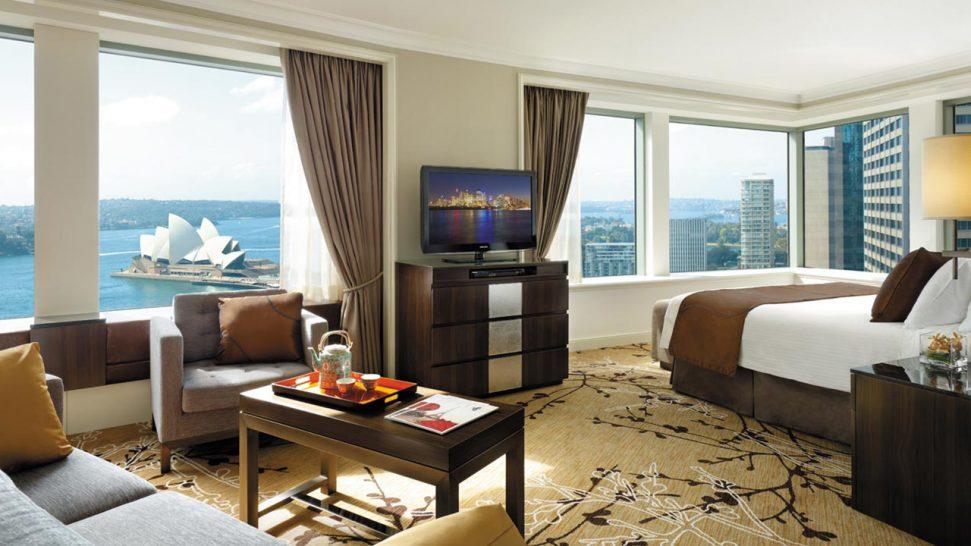 Shangri La Hotel Sydney Grand Premier Sydney Harbour Room