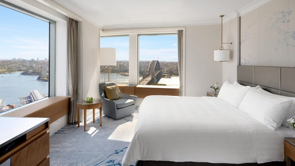 Shangri La Hotel Sydney Horizon Club Sydney Harbour Suite