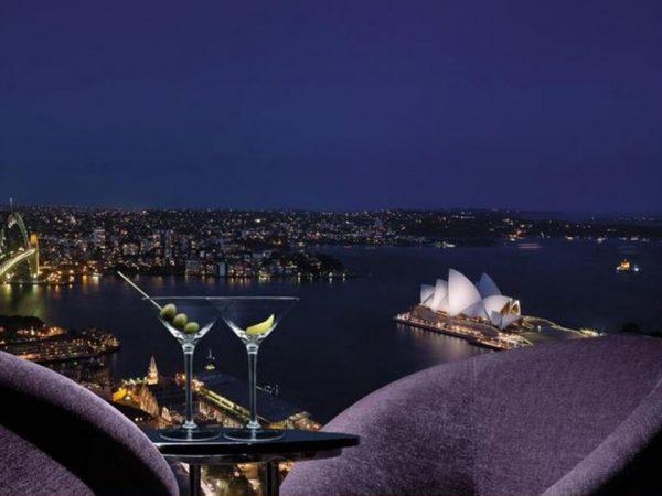Shangri La Hotel Sydney Lobby View
