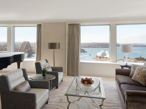 Shangri La Hotel Sydney Royal Suite