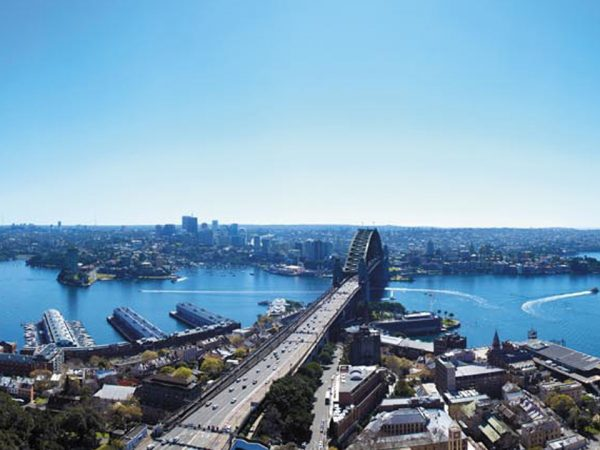 Shangri La Hotel Sydney Top View