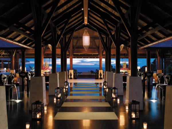 Shangri La's Boracay Resort And Spa Main Entrance