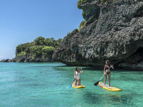 Shangri La's Boracay Resort And Spa Paddle Boarding