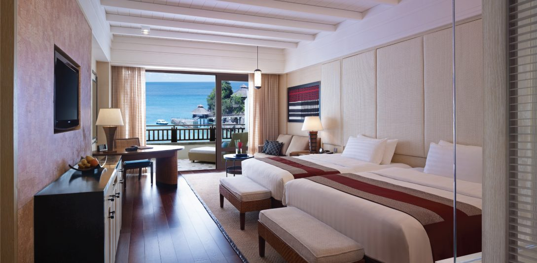 Shangri La's Boracay Resort And Spa Premier Family Seaview Room