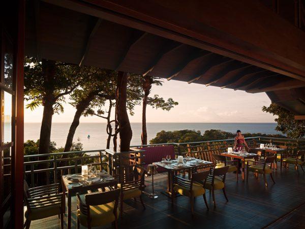 Shangri La's Boracay Resort And Spa Rima Mediterranean Treetop Dining