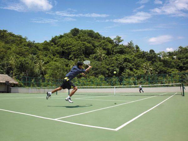 Shangri La's Boracay Resort And Spa Tennis Courts