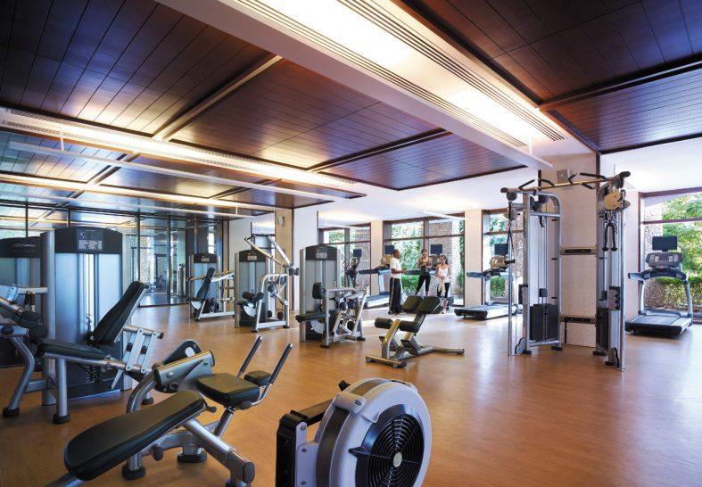 Shangri La's Boracay Resort And Spa Gym