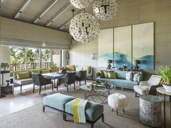Shangri La's Hambantota Golf Resort and Spa Lobby Area