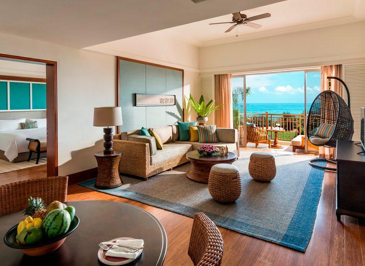 Shangri La's Hambantota Golf Resort and Spa Premier Ocean Suite